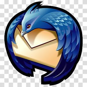 D Cartoon Icons III, Mozilla Thunderbird, Mozilla.