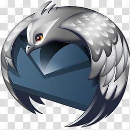 Firefox Thunderbird Vanablue, Bumpy Thunderbird icon.