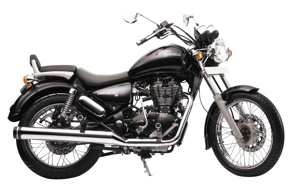 Royal Enfield Thunderbird 500 Motorcycle Bike PNG Image.