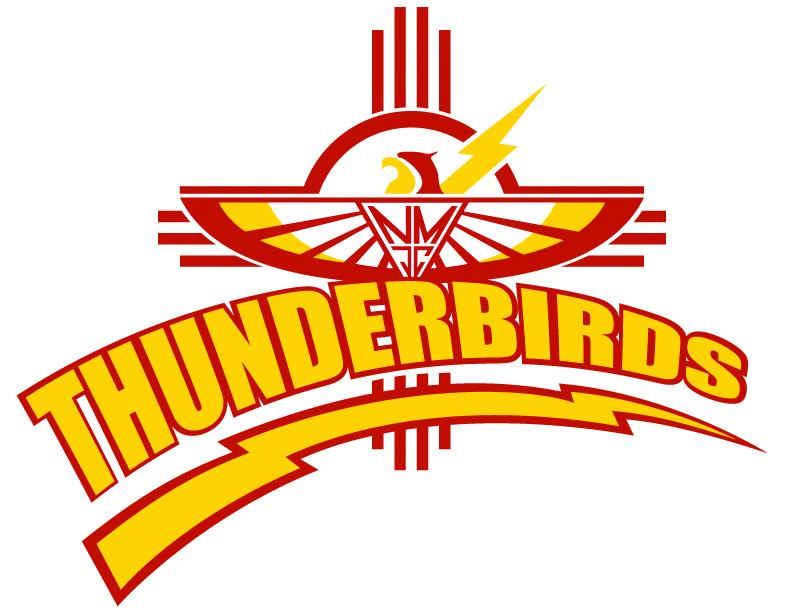 Thunderbird mascot clipart.