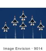 Air force thunderbirds clipart.
