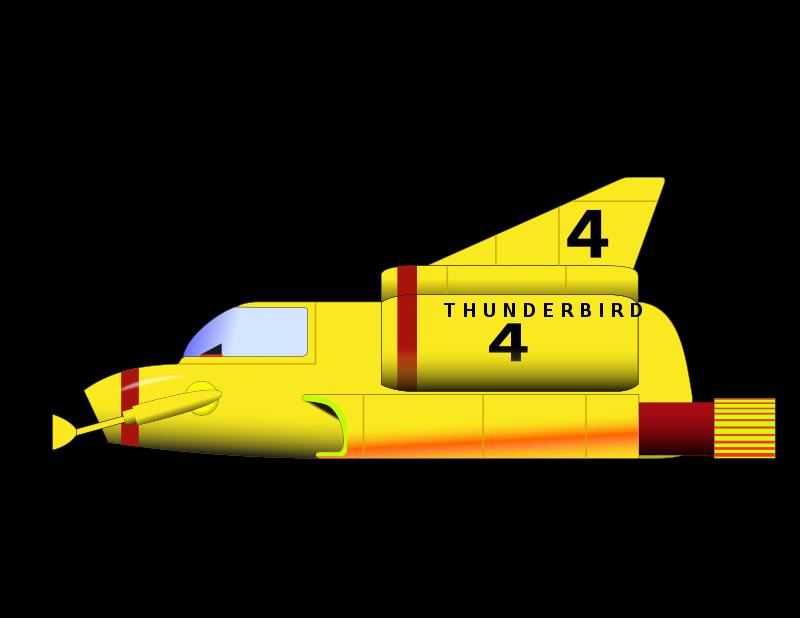 Free Clipart: THUNDERBIRD 4.