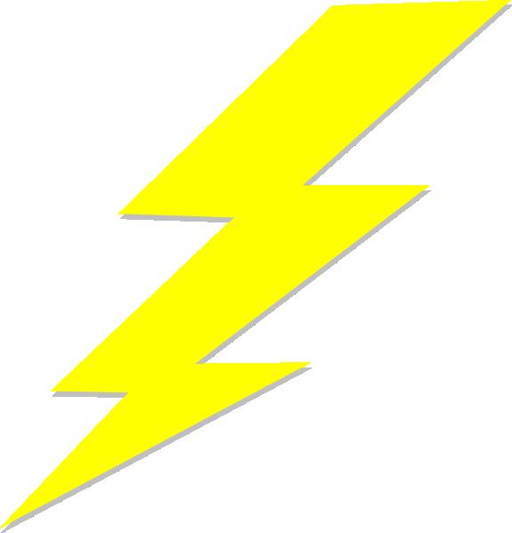Zeus Thunderbolt Clipart.
