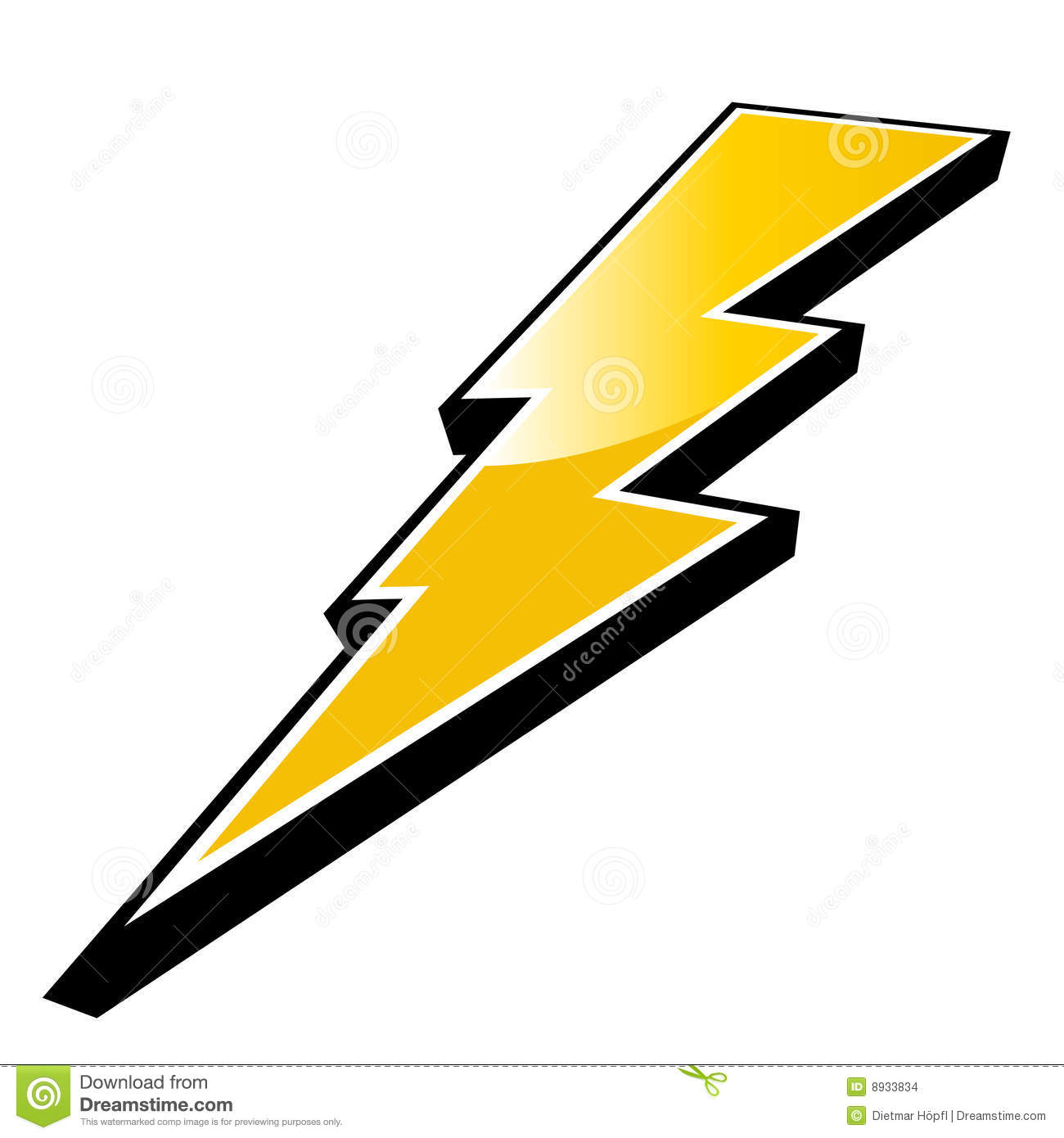 Thunderbolt clipart #6