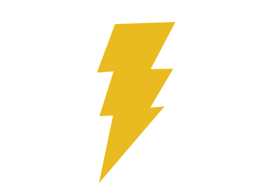 Thunderbolt Clip Art, Vector Thunderbolt.