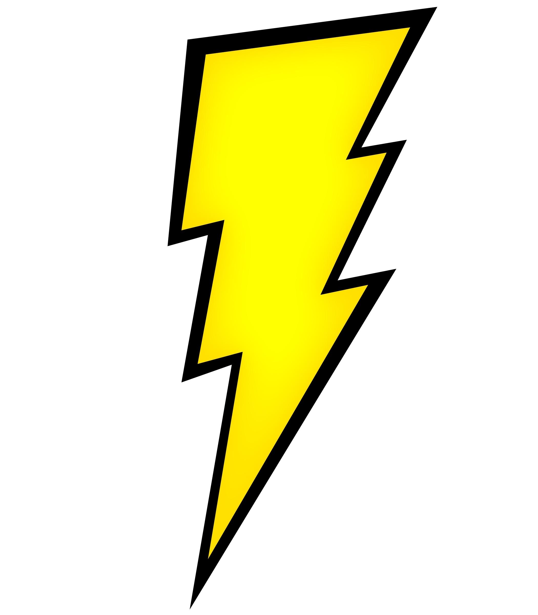 Thunderbolt Clipart.