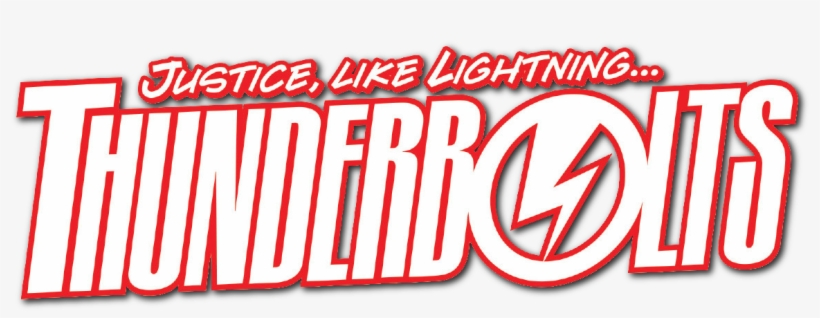 Thunderbolts Logo Transparent PNG.