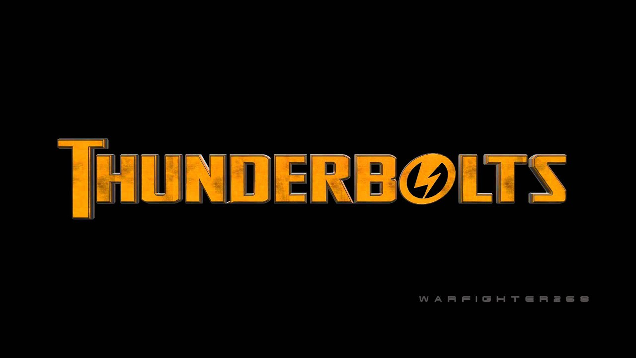 Thunderbolts Movie Logo (After Effects).