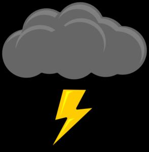 Rain Thundercloud Clipart.