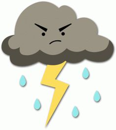 Thunder Cloud Clipart.
