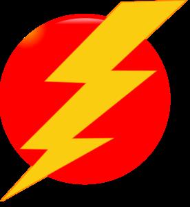 Thunder Bolt Clip Art at Clker.com.