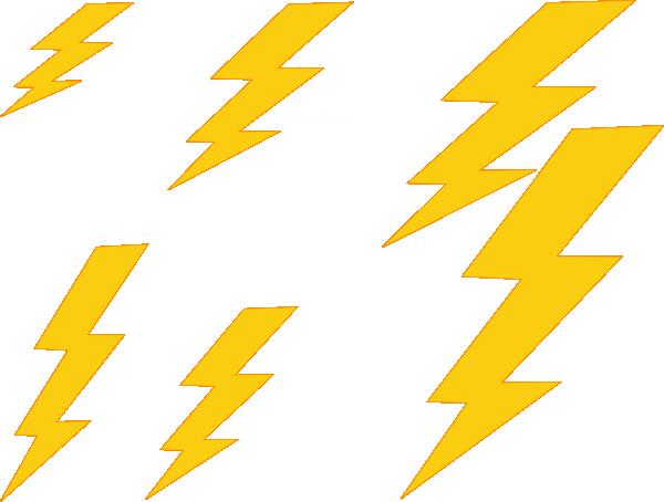 Thunder Basketball Clipart.