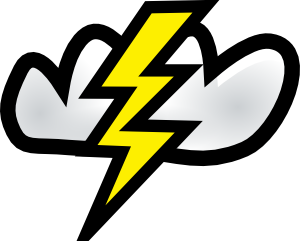 Thunder Storm Clip Art at Clker.com.
