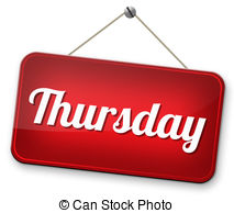 Thursday Illustrations and Clip Art. 4,248 Thursday royalty free.