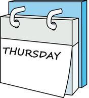 Thursday Clipart.