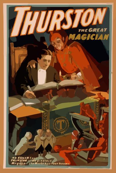 Thurston The Great Magician Clip Art at Clker.com.
