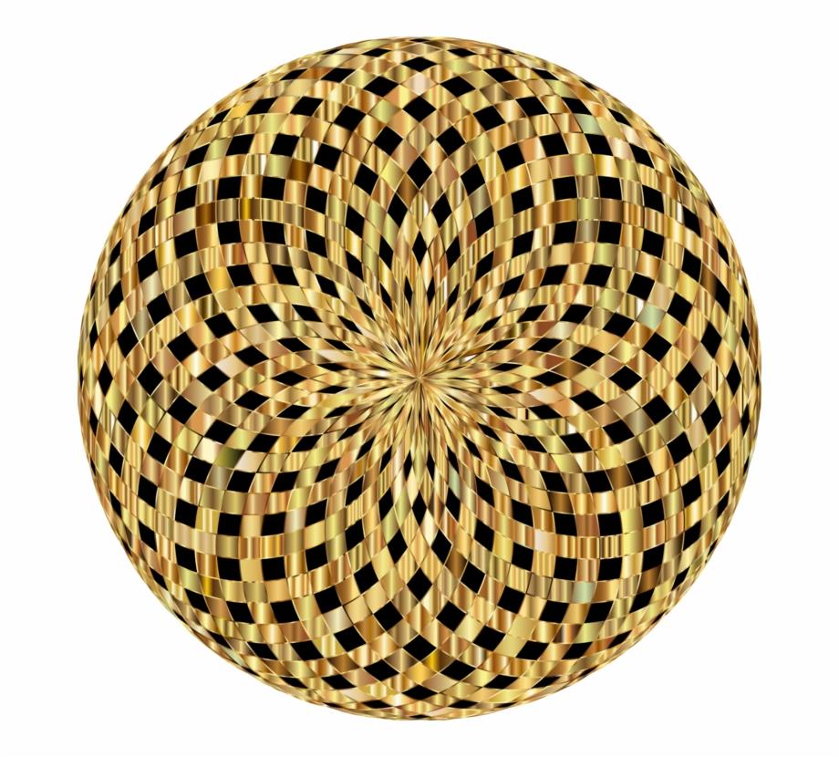 Lumia Wealth Mandala Handbag Gold Necklace.