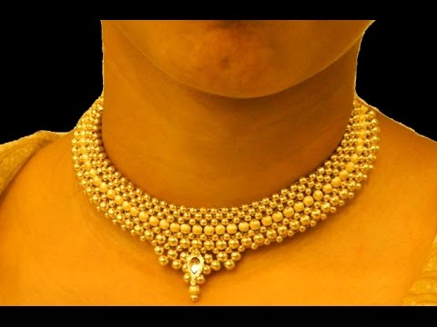 Maharashtrian Thushi Necklace Jewellery Design.