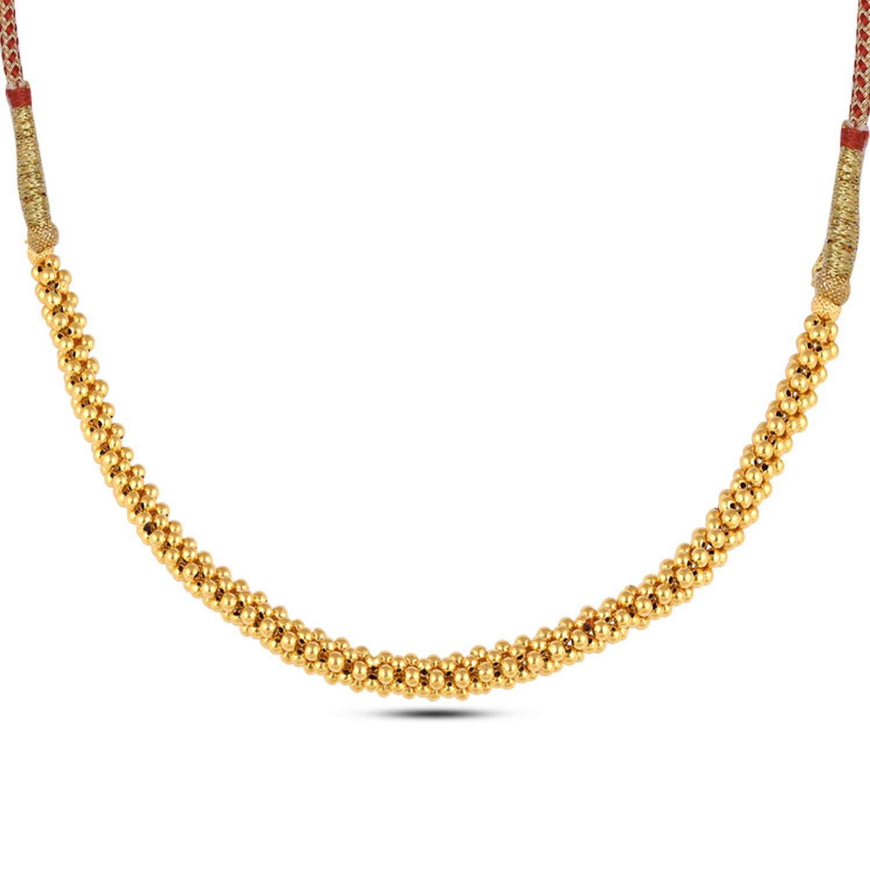 Gold Necklace Set, Thushi Necklace.