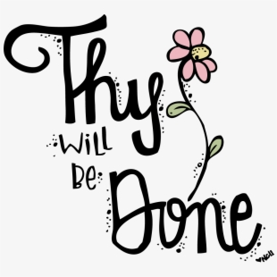 Thy Will Be Done *stencil Only*.