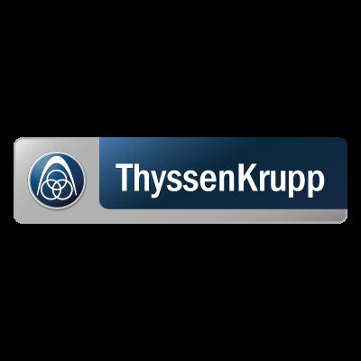 ThyssenKrupp logo vector free.