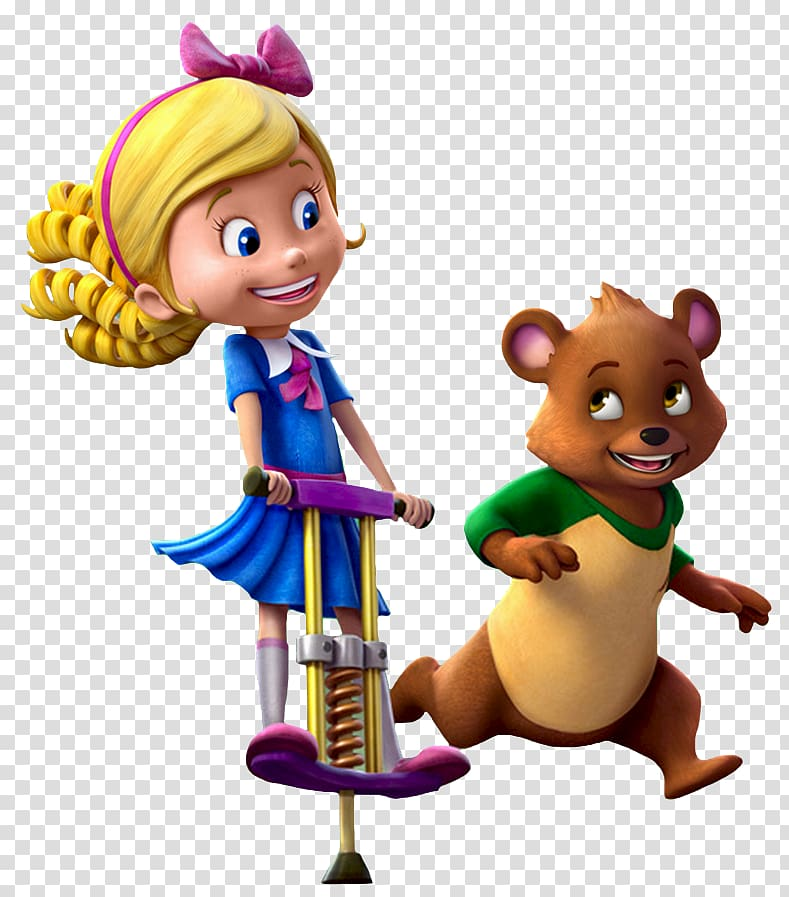 Goldie & Bear Goldilocks and the Three Bears, cartoon circus.