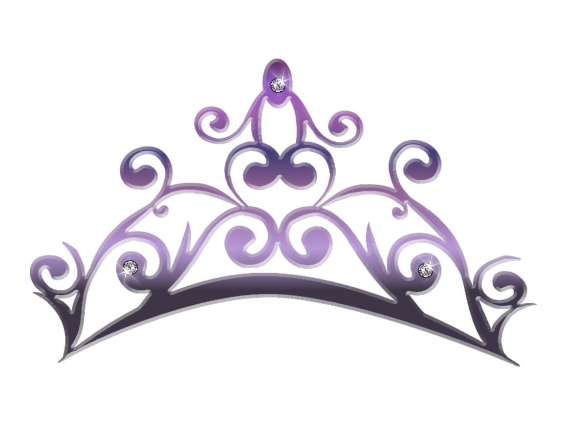 Slip Crown Princess Tiara Clip art.