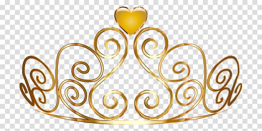 Gold Princess Crown clipart.