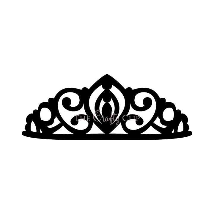 princess crown clipart vector #17