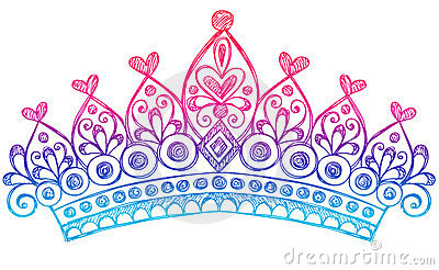 Tiaras and crowns clipart.