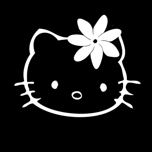 Hello Kitty with Tiare Decal.