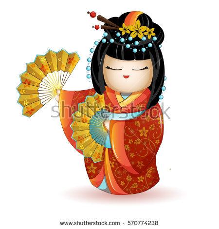 Kimono Stock Images, Royalty.