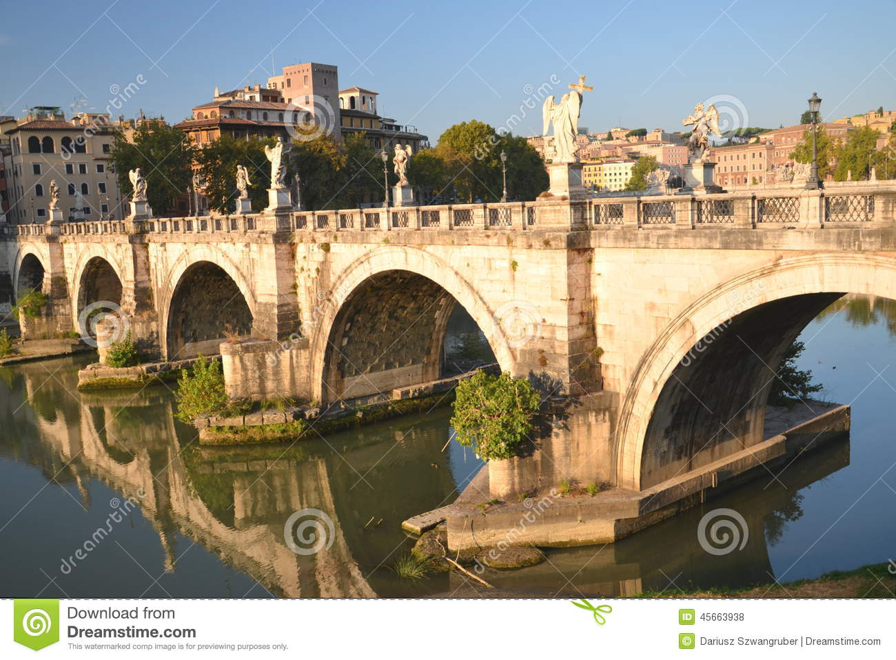 Map rome tiber river clipart.