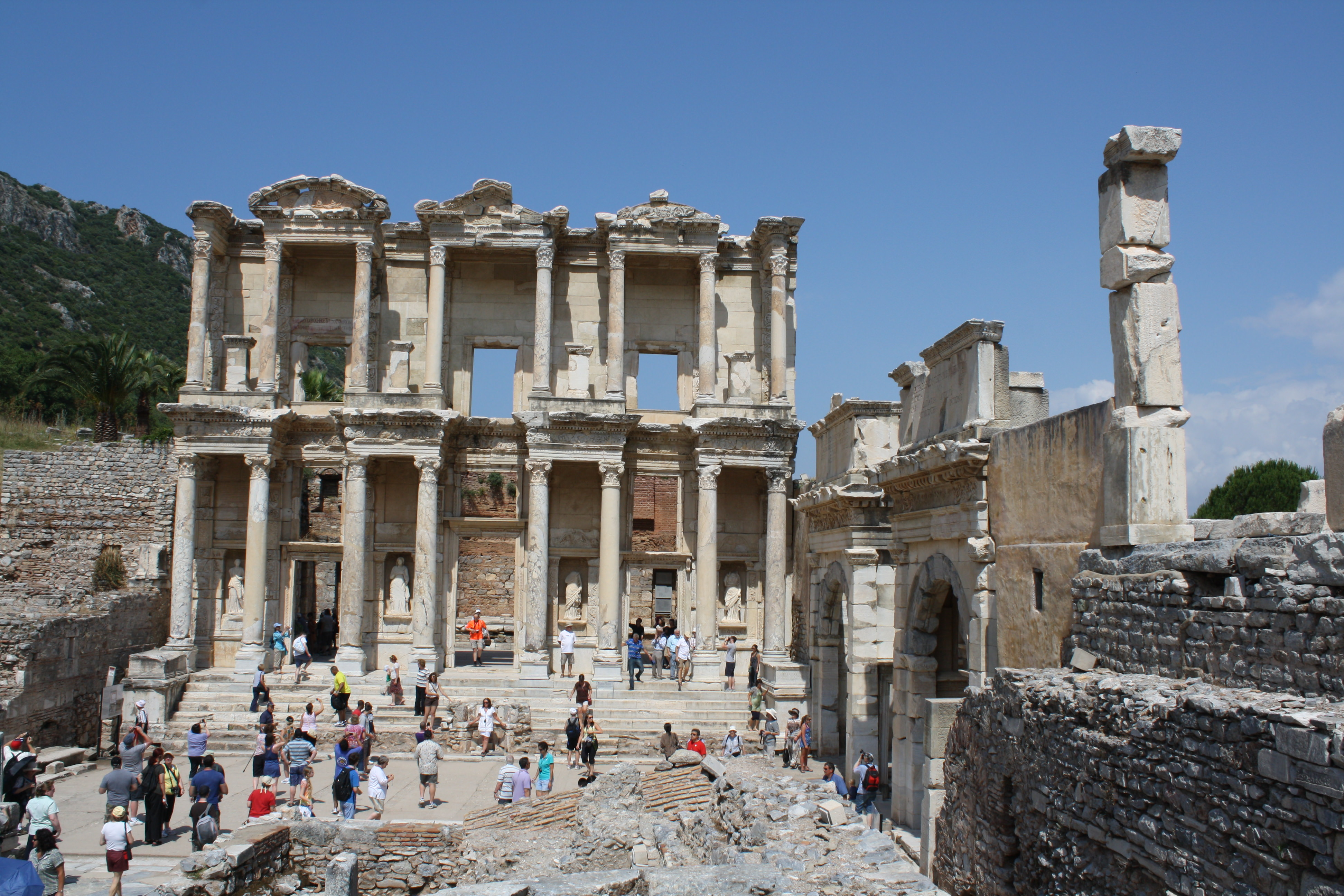 Celsus Library.