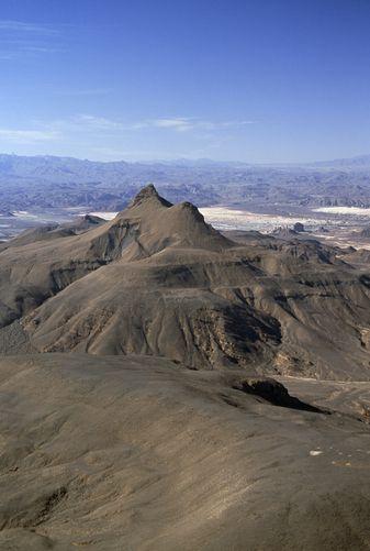 Tibesti Mountain, Chad, Africa.