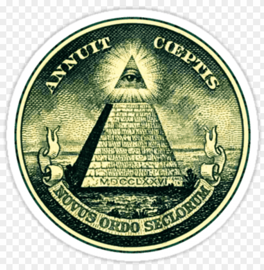 all seeing eye, pyramid, dollar, freemason, god\