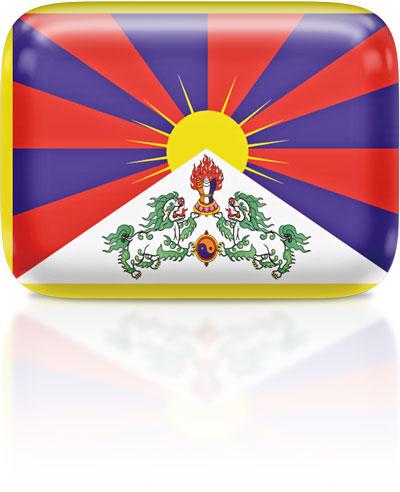 Flag Icons of Tibet.
