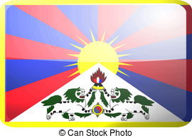 Tibetan flag Illustrations and Clip Art. 81 Tibetan flag royalty.