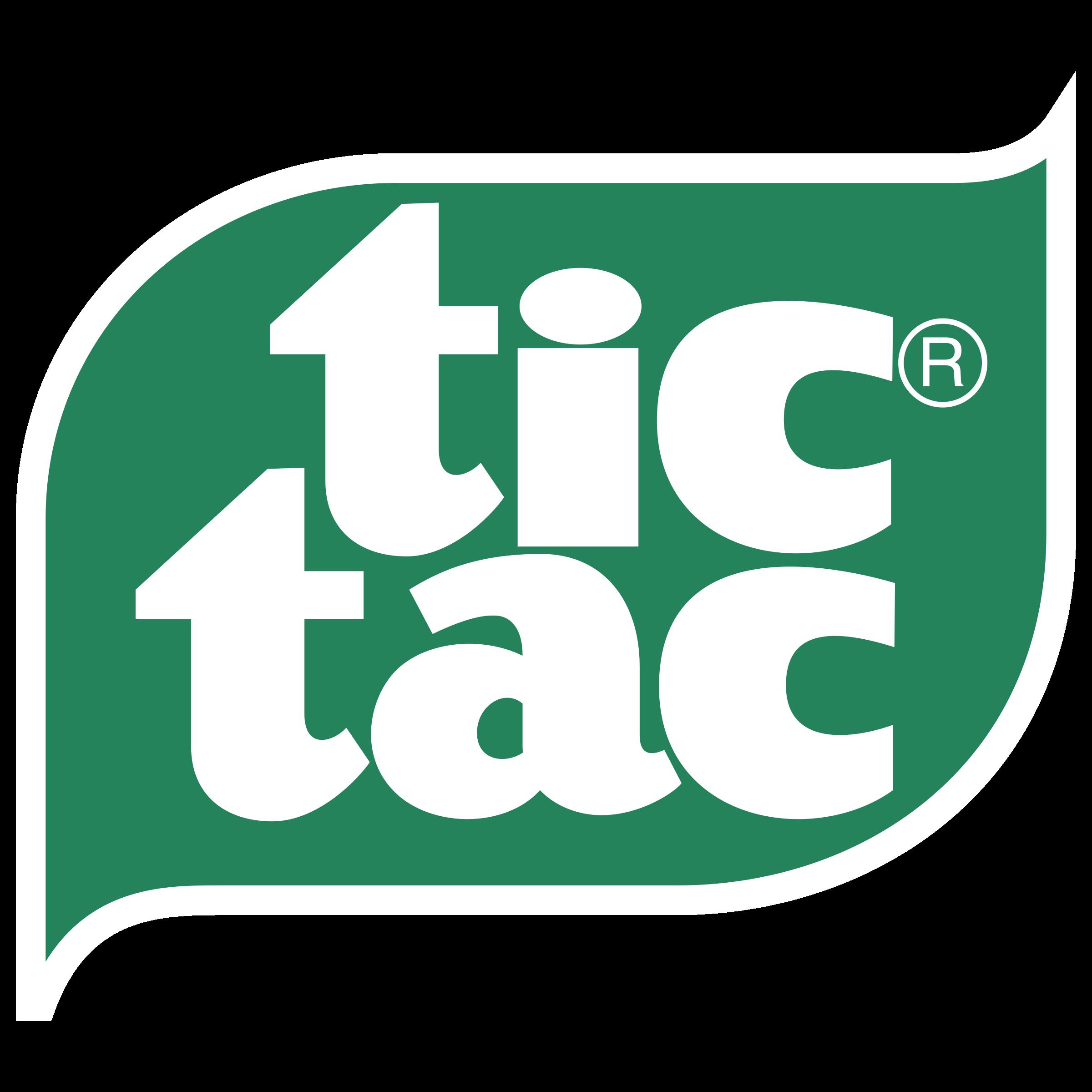 Tic Tac Logo PNG Transparent & SVG Vector.