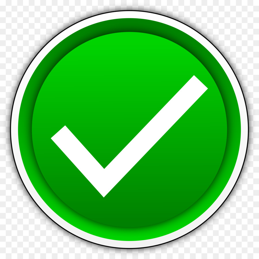 Green Check Mark Icon clipart.