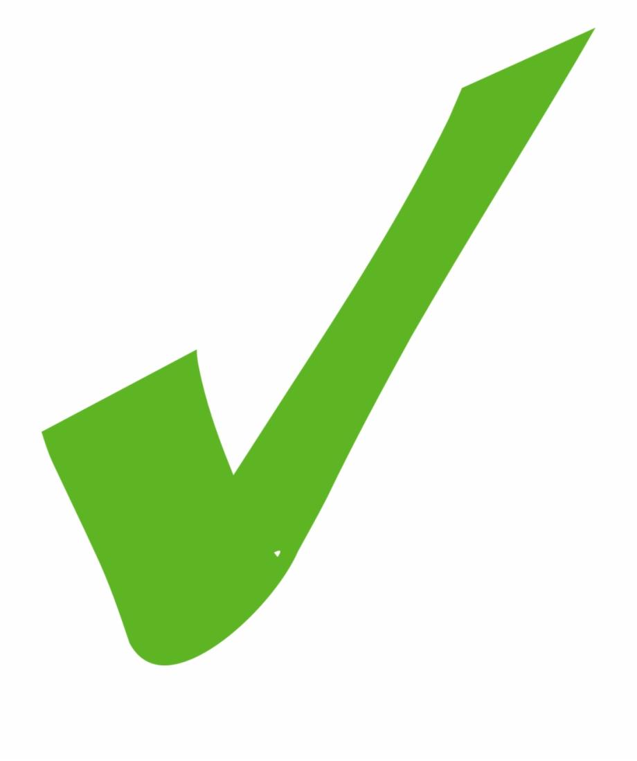 Icono Tick Verde Png.