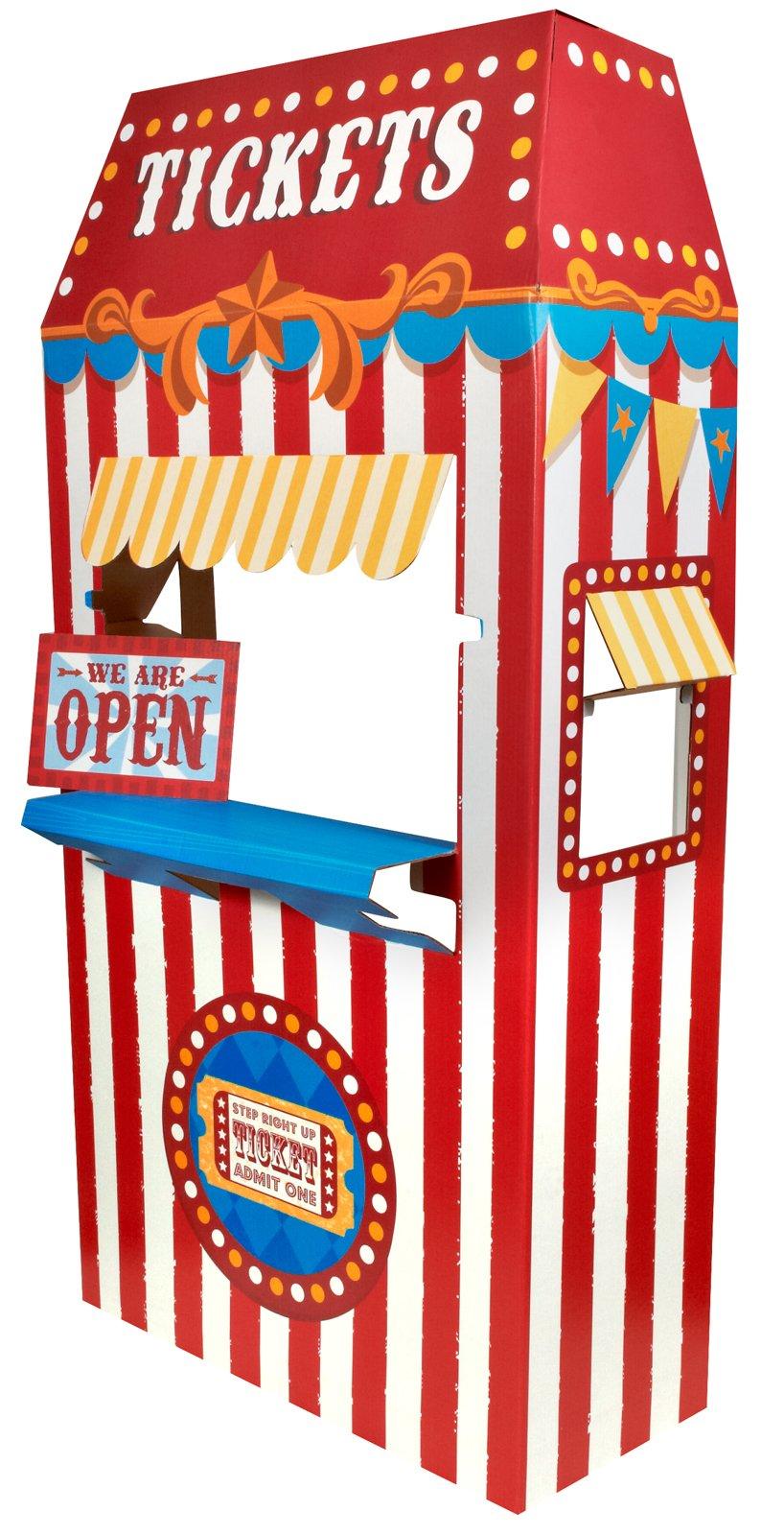 County Fair Booth Clipart.