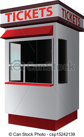 Ticket booth Stock Illustration Images. 167 Ticket booth.