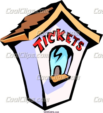 Carnival Ticket Booth Clipart.