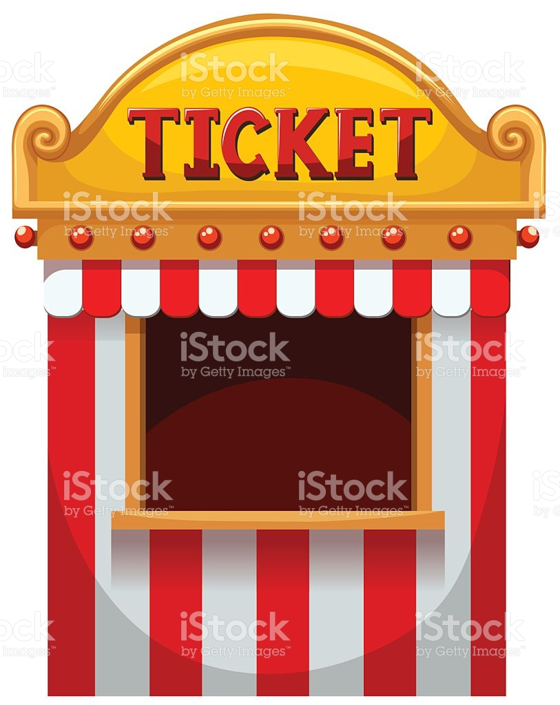 Ticket Booth Clip Art, Vector Images & Illustrations.