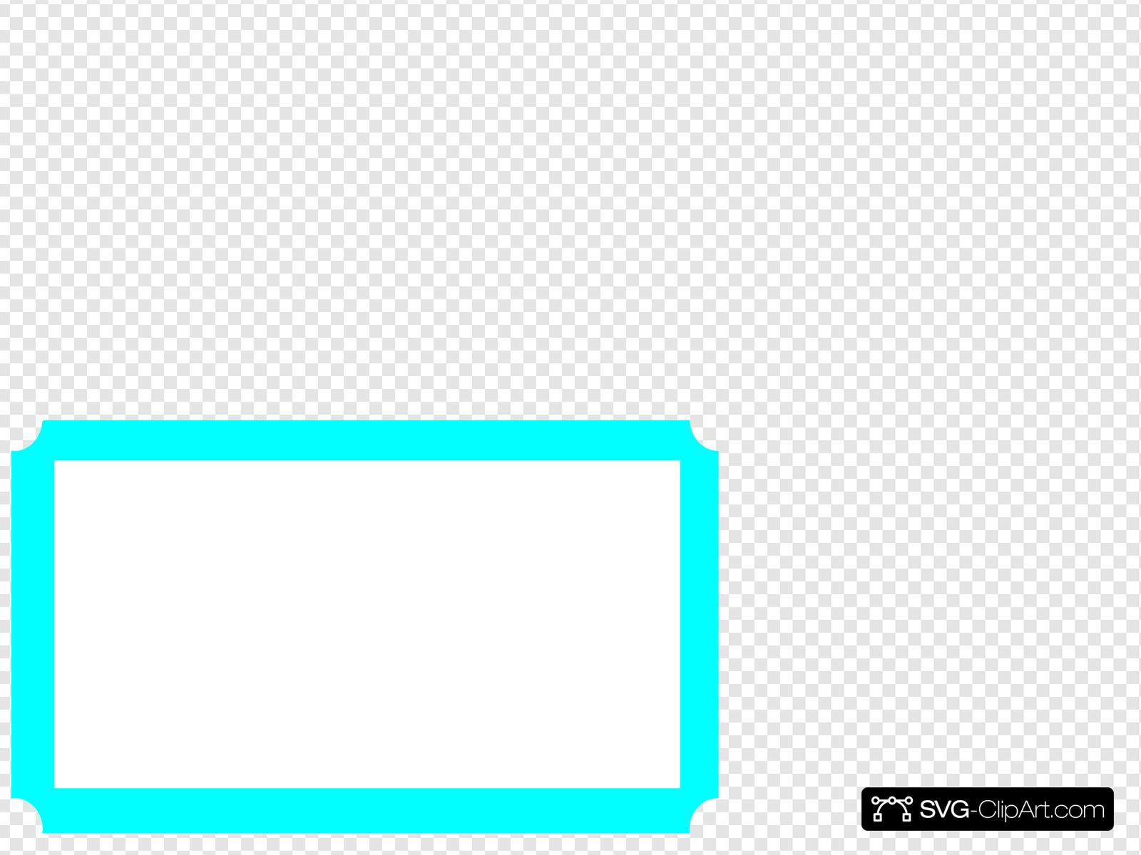 Ticket Border Clip art, Icon and SVG.