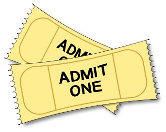 Clip art ticket clipart clipartcow.
