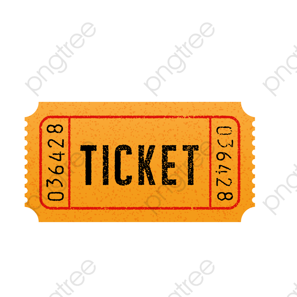 Vector Retro Ticket Booking, Ticket Clipart, Tickets.