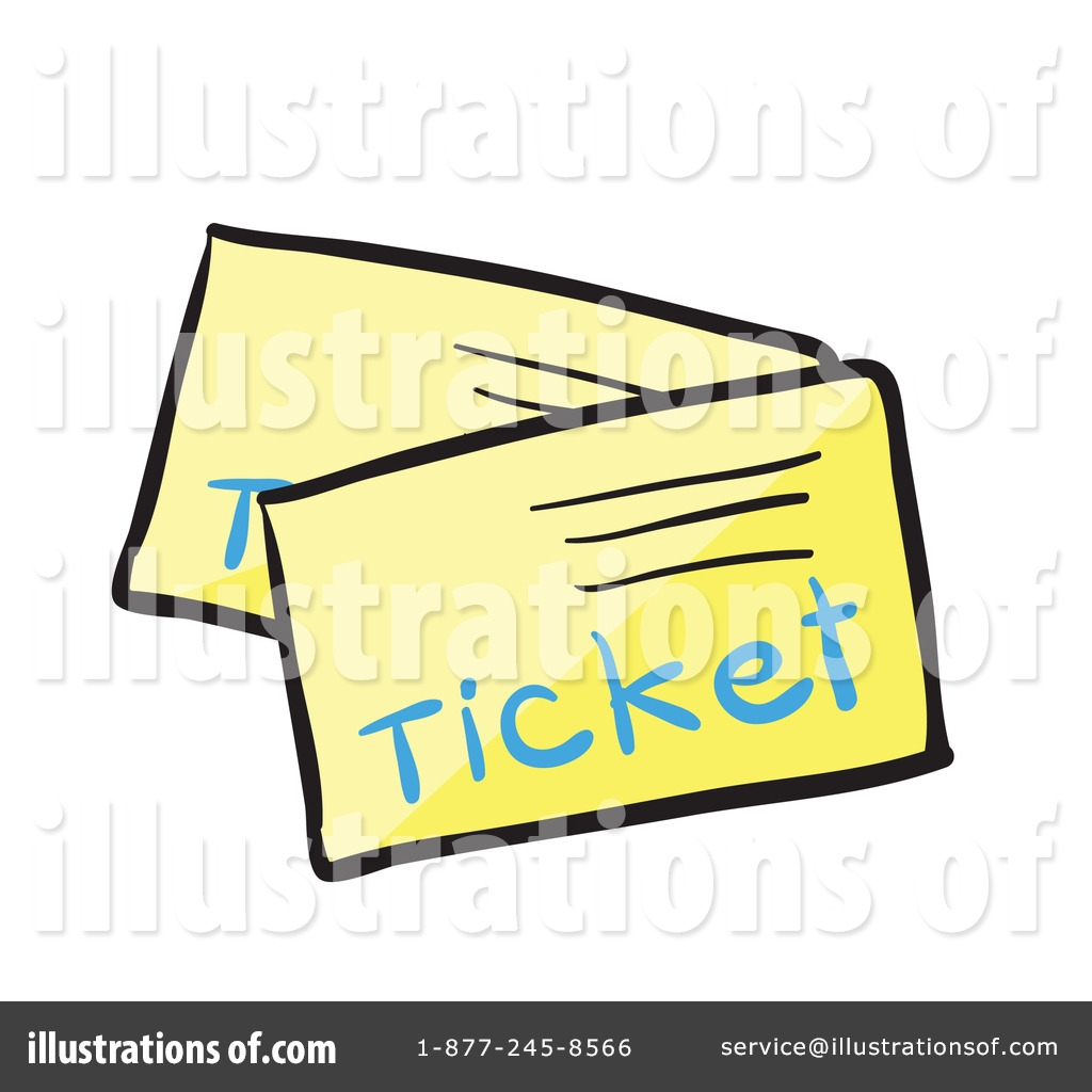 Ticket Clipart #1133702.