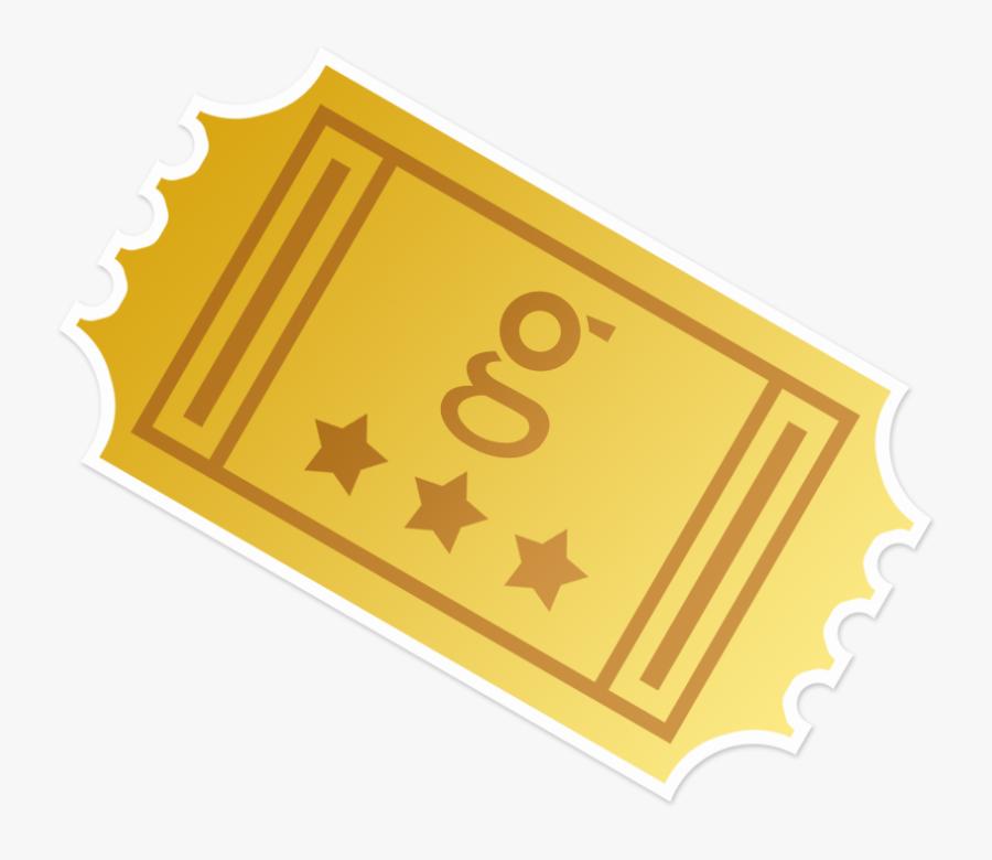 Golden Ticket Willy Wonka Logo Clip Art.